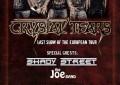 LIVE: 1/3/2015 – CRYSTAL TEARS, Shady Street, The Joe Band @ Odos Oneiron, Chalkida, Greece