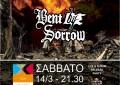 LIVE: 14/3/2015 – ADJUST, BENT BY SORROW @ Chytirio Theatre, Athens, Greece