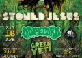 LIVE: 18/4/2015 – STONED JESUS, DOPELORD, Green Yeti @ An Club, Athens, Greece